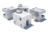 DBI Sala U Maxi Clamp 4-Pack for Standing Seam Roof Top Anchor, Mfg# 7241208, 4-Pack Kit, Fits Single Folded Type Standing Seams.
