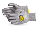 Superior Glove TenActiv™ Composite Knit ANSI Cut Level A2 Cut-Resistant Gloves with Grey Polyurethane Coated Palms, Mfg# S13TAGPU