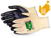 Superior Glove Dexterity® 18-Gauge Cut-Resistant ANSI Cut Level-A3 Work Glove with Foam Nitrile Palm, Mfg# S18KGFN