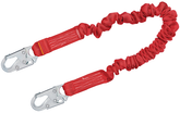 3M Protecta PRO Stretch Shock Absorbing 6 ft. Lanyard, Snap Hook On Both Ends, Mfg# 1340101
