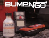 Industrial Scientific 18109568 Bump-N-Go Test Gas, 100 ppm CO, 75 ppm H2S, 15% O2, 25% LEL Methane, Hazmat