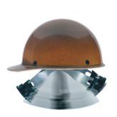 "MSA Skullgard® 816651 Protective Hard Hat, Natural Fiber Tan, Standard Size 6 1/2"" - 8"", Swing Ratchet Suspension"