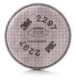 3M 2297 Advanced P100 Particulate Filter with Nuisance Level Organic Vapor Relief, Sold 2 each/pkg