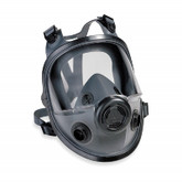 North by Honeywell 5400 Series Full Face Respirator, Dual Cartridge, Medium/Large