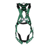MSA V-FORM™ Full Body Harness with Back D-Ring, Tongue Buckle Leg Straps