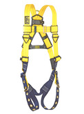 3M DBI Sala® Delta™ 1102000 Vest Style Full Body Harness, Back D-Ring, Universal Size