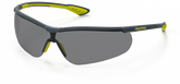 Hexarmor VS250 Safety Eyewear with TruShield-S Coating, Grey 23% Lens, Mfg# 11-15003-04, Sold By Each