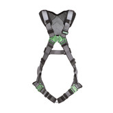 MSA V-FIT™ Full Body Harness, Back D-Ring, Quick-Connect Leg Straps, Shoulder Padding