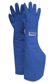 "CRYOGEN Safety Gloves by National Safety Apparel, 26"" Shoulder Length, Water Resistant, Royal Blue, G99CRBER__SH"