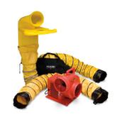 Allegro 9520-04M Centrifugal Standard Blower System with Manhole Ventilation Passthru