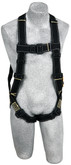 3M DBI Sala 1110831 Delta Arc Flash Harness with PVC Coated Back D-Ring and Hardware, Nomex /Kevlar, XLARGE Size