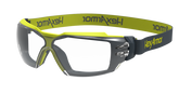 Hexarmor MX350 Safety Eyewear, Clear Lens with TruShield S Coating, Cloth Strap, Mfg# 11-23001-04