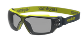 Hexarmor MX350 Safety Eyewear, Grey 23% Lens with TruShield S Coating, Cloth Strap, Mfg# 11-23002-04