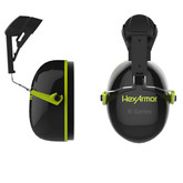 HexArmor  K2C Earmuffs for Ceros™ Series Helmets, Slot Adapted, 25 Decibel Rating with Hi-vis Accents