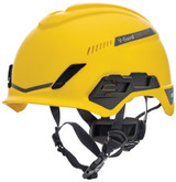 MSA V-Gard® H1 Vented Safety Helmet with Chinstrap and Fas-Trac® III Pivot Suspension, Type 1, Class C, Matte