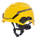 MSA V-Gard® H1 Non-Vented Safety Helmet with Chinstrap and Fas-Trac® III Pivot Suspension, Type 1, Class E, Matte Finish