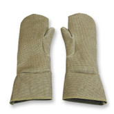 """Chicago Protective Apparel 178-ZP 18"""" Zetex® Plus Single Layer High Heat Mittens, 18"""" Length"""