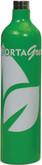 PortaGas PortaGreen Calibration Gas, 34 Liter, 100 ppm CO, 25 ppm H2S, 18% O2, 50% LEL CH4 Methane (2.5% vol), Part# 90096840, Hazmat