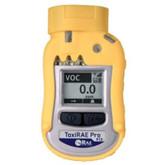 RAE Systems ToxiRae Pro VOC Personal Monitor, 10.6 ev PID, 1-1000 ppm Range, Mfg# G02-B010-000