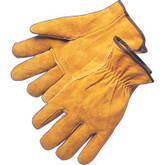 Durawear Bourbon Brown Split Leather Suede Drivers Style Work Glove, Sold In Pairs