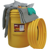 95 Gallon Drum Hazwik® Chemical - Spill Response Drum Kit # SKH-95