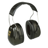 3M™ Peltor™ Optime™ 101 Over-the-Head Earmuffs,Green, NRR 27dB | Mfg# H7A