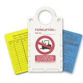 Brady ID FORKLIFTAG® Forklift Inspection Kit, Complete Kit, FLT-ETSH9A, Part No. 104130