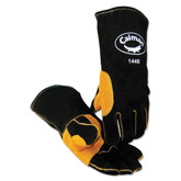 Caiman 1448 Premium Split Cow Welding Glove, w/HeatFlect, Kevlar Sewn