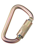 DBI Sala Saflok® Steel Carabiner, 11/16 inch gate opening, 3600 lbs. Self Closing-Locking Gate, Mfg# 2000112