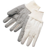 Durawear Cotton Canvas Work Glove with PVC Dots | Mfg# 15-2300PD