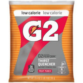 Gatorade® G2 Fruit Punch 6 Gallon Powder Low Calorie Energy Drink | Mfg# 13441