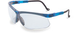 Uvex Genesis S3240 Vapor Blue Safety Eyewear, Ultra-Dura Anti-Scratch Hardcoat Lense