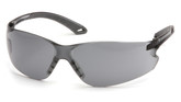 Pyramex ITEK Safety Eyewear, Gray Lens and Temples, Mfg# S5820S