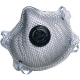 Moldex 2400 N95 Respirator, N95 with Charcoal Filter for Nuisance Level Organic Vapor Relief, Packaged 10 Each Per Bag