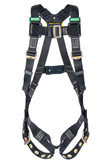 MSA 10152634 Workman® Arc Flash Full Body Harness, Tongue Buckle Legs Straps, XLARGE