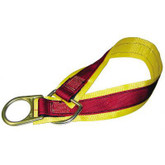 MSA Double D-Ring 3' Anchorage Connector Strap, Mfg# SFP2267503