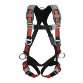 MSA EVOTECH® Full Body Harness, Back & Hip D-Rings, Standard Size, Quick-Connect Buckles, Mfg# 10105942