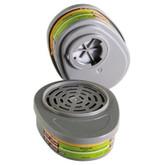 MSA Mersorb Mercury Vapor Advantage Series Respirator Cartridge | Mfg# 815361