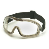 New Low-Profile goggle, Soft PVC frame, lightweight, Anti-fog G704T