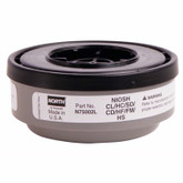 North Safety N75002L Acid Gas Respirator Cartridge, Sold Per Pack