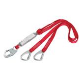 """Protecta PRO 100% Tie-Back Lanyard SA Lanyard 6'x1"""", 1340060"""