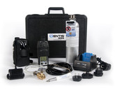 Industrial Scientific VK-K1232110111 MX4 Confined Space Kit, Black Overmold,  4-Gas Detector, LEL, O2, CO, H2S, Hazmat