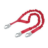 Protecta PRO Stretch Shock Absorbing Lanyard, 100% Tie-Off | Mfg# 1340141