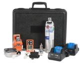 Industrial Scientific VKVSP4-K1111 Ventis MX4 Confined Space Kit with Slide-on Pump, Safety Orange, Calibration Kit, Hazmat