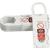 SCAFFTAG® White Holder | Brady ID# 104111