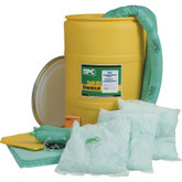 SPC Brady 55 Gallon Drum Allwik® Spill Response Kit | Mfg# SKA-55