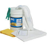 SPC/Brady 6.5 Gallon Oil Spill Bucket #SKO-BKT Oil