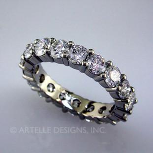 Wed 4- Custom Designed Diamond Anniversary ring.