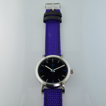 .  Here is time in full color. This Taki watch is fun, fun, fun! Fresh design, fresh color palette, all mesh strap, a Japanese movement, and stainless steel bezels. Face measures 1 1/4inch . Clean simple designs with so many fun colors, it will make you happy every time you wear it. And at a very affordable price