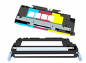 HP (124A) Q6002A Compatible ColorLaserJet Toner - Yellow. Approximate yield of 2000 pages (at 5% coverage)